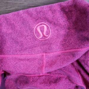 lululemon athletica Tops - Lululemon Pink Raspberry Scuba Jacket Zip S